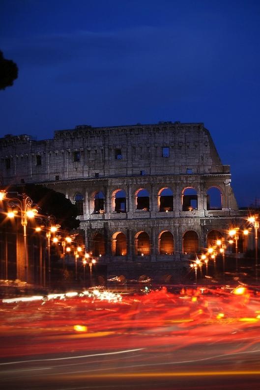 Burning Rome by Francesco Iacomino