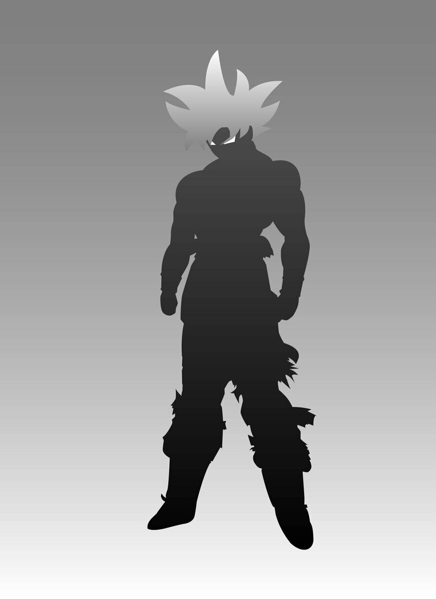 Goku Ultra Instinct Minimal Anime Dragon Ball Super Dragon Ball Wallpapers Dragon Ball Art Goku