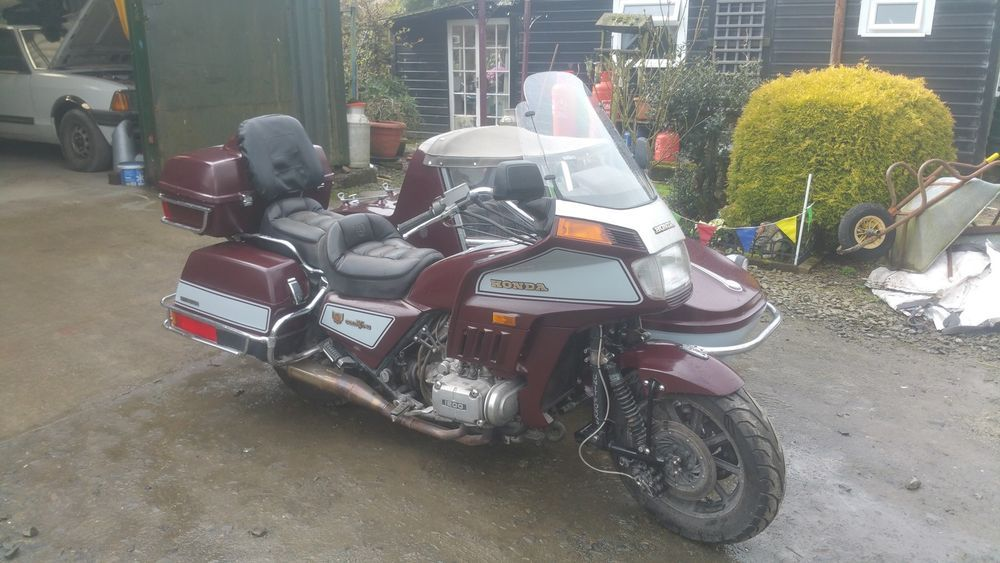 Honda Goldwing Gl1200 Outfit Watsonian Sidecar In Cars Motorcycles Amp Vehicles Motorcycles Amp Scooters Honda Ebay Sidecar Honda Goldwing