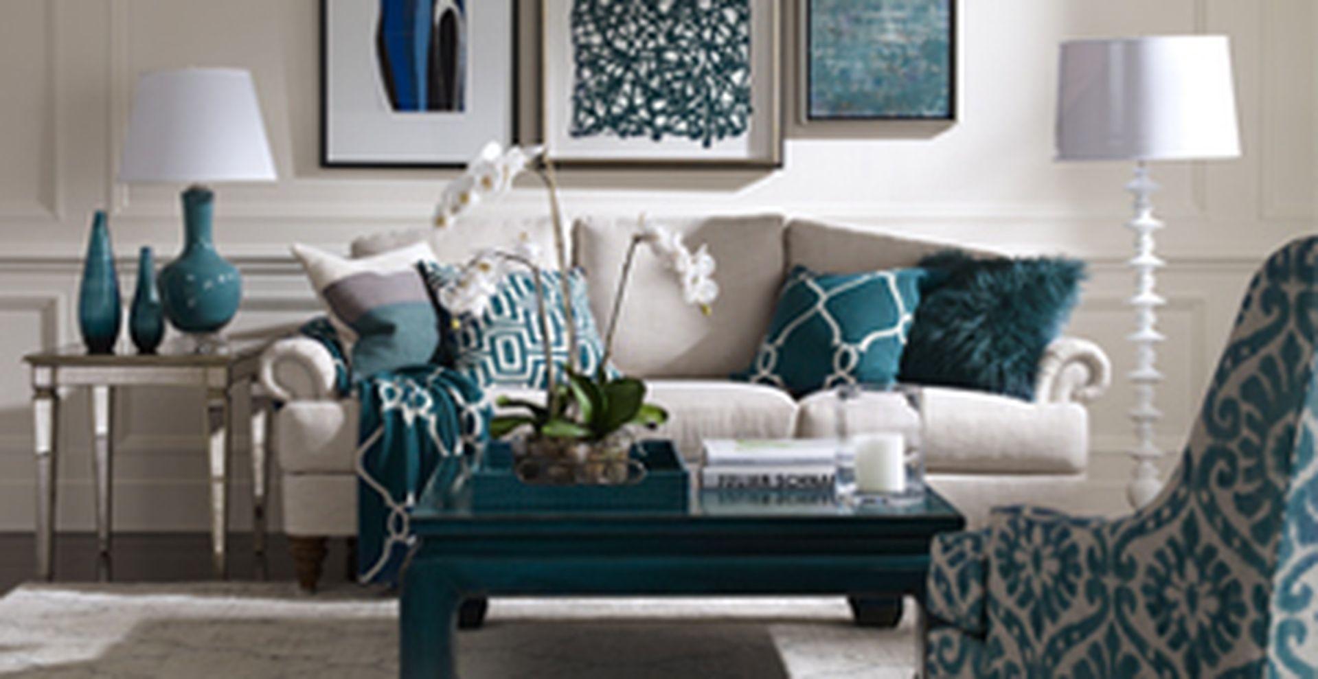 Teal Living Room Decor Ideas