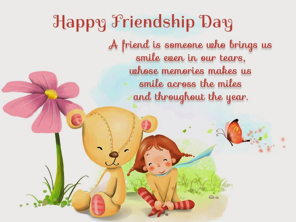 Beautiful Friendship Day Greetings Designs And Quotes August Hd