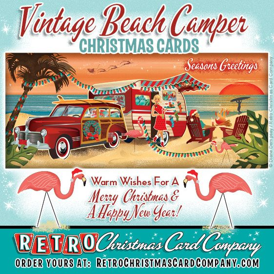 The Retro Christmas Card Company, our collection of vintage style