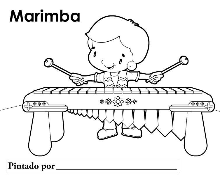 Marimba | herramientas para maestros | Colores, Simbolos patrios y ...