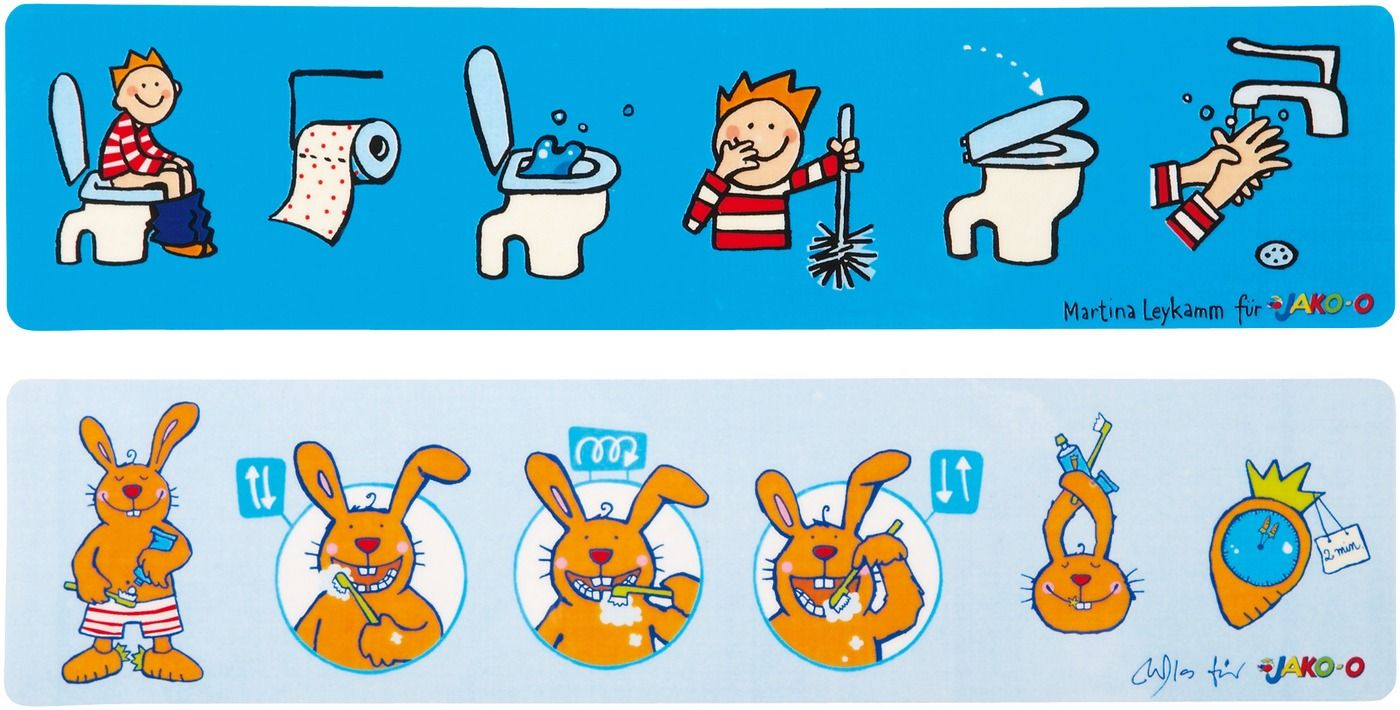 Dental hygiene and toilet Rules JAKO-O Online - JAKO-O | Home in ...