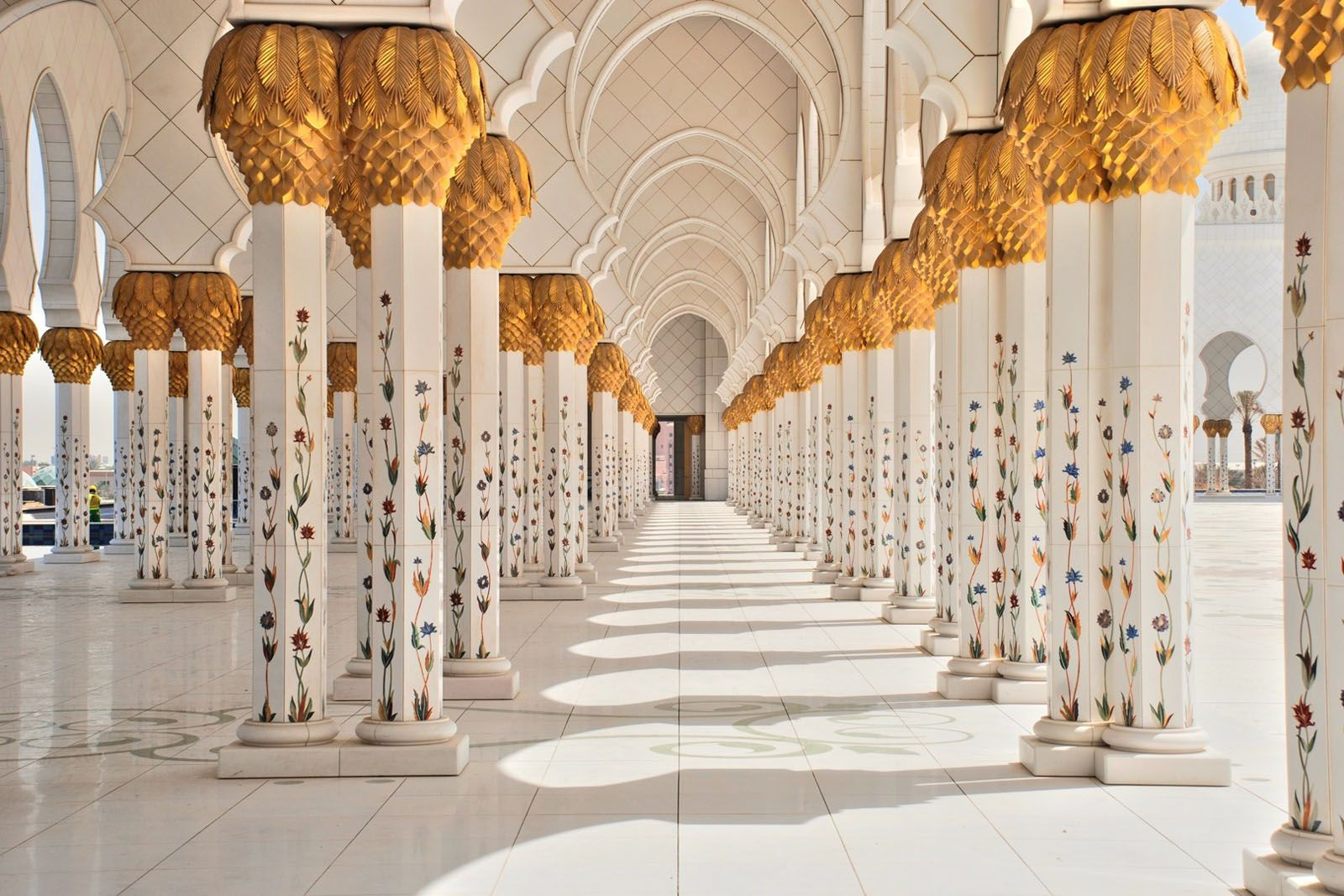 Sheikh Zayed Grand Mosque Is The Third Largest In World