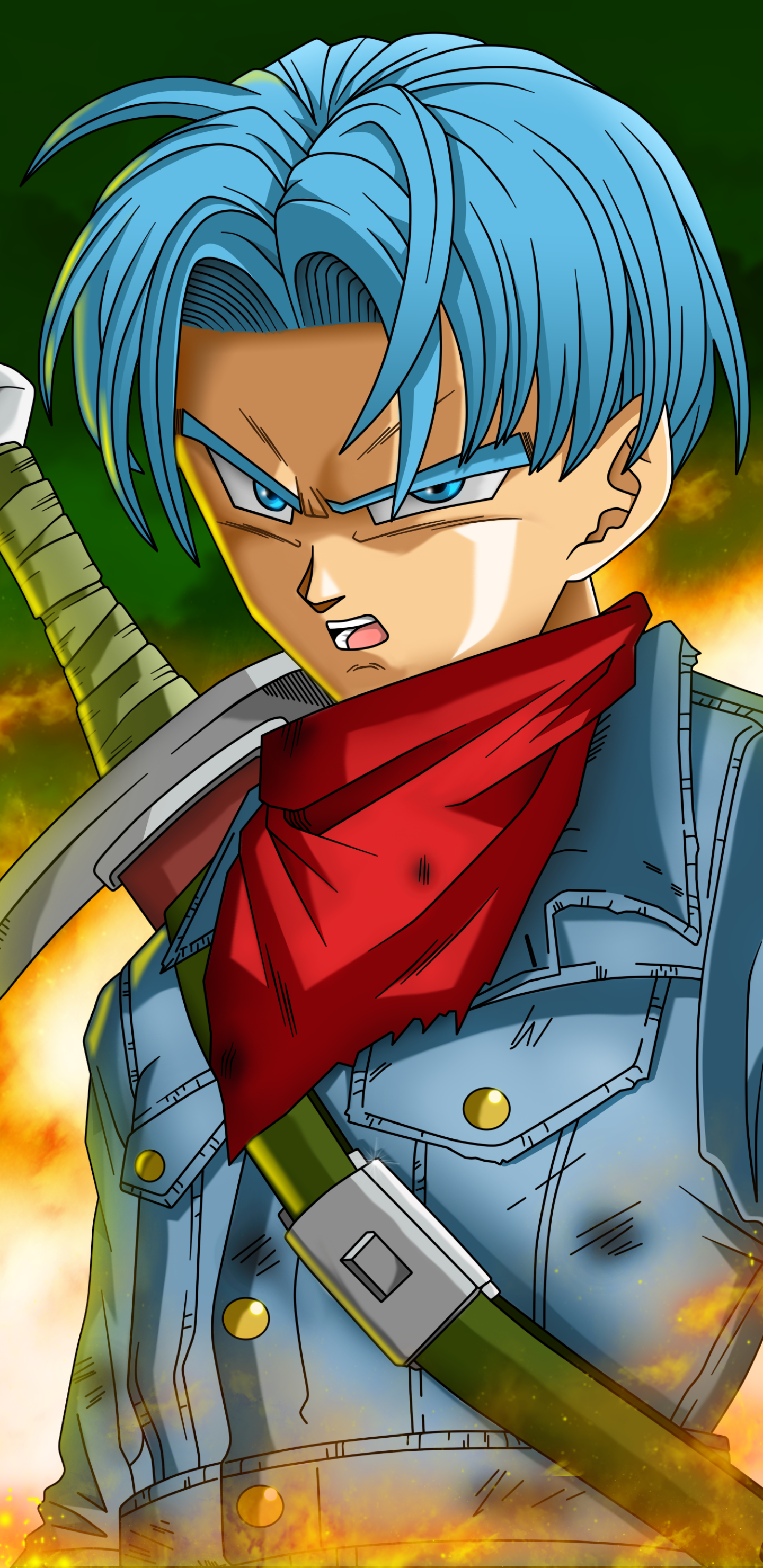 Download this Wallpaper Anime/Dragon Ball Super (1440x2960