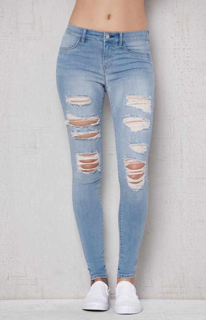 0b06e98ea3b03 Mae Blue Perfect Fit Jeggings | fits | Jeggings, Pacsun, Jeans