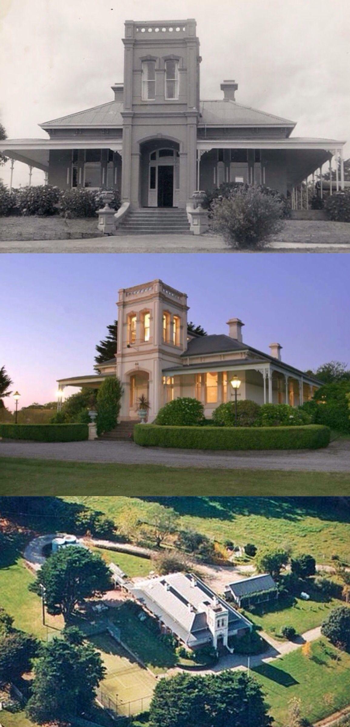 Melrose, Harkaway (44Km Se Of Melbourne) Was Built In 1875