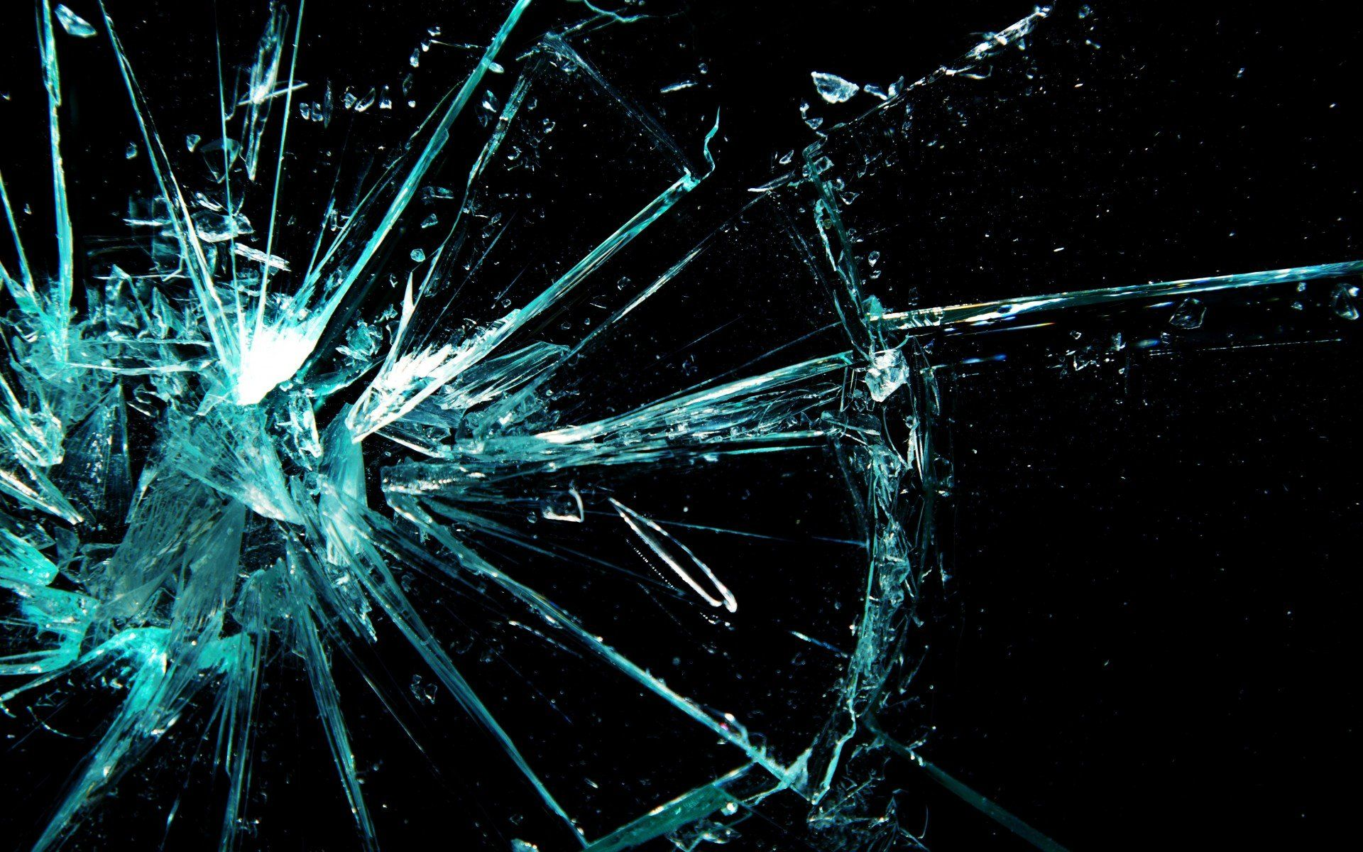 broken glass wallpaper HD