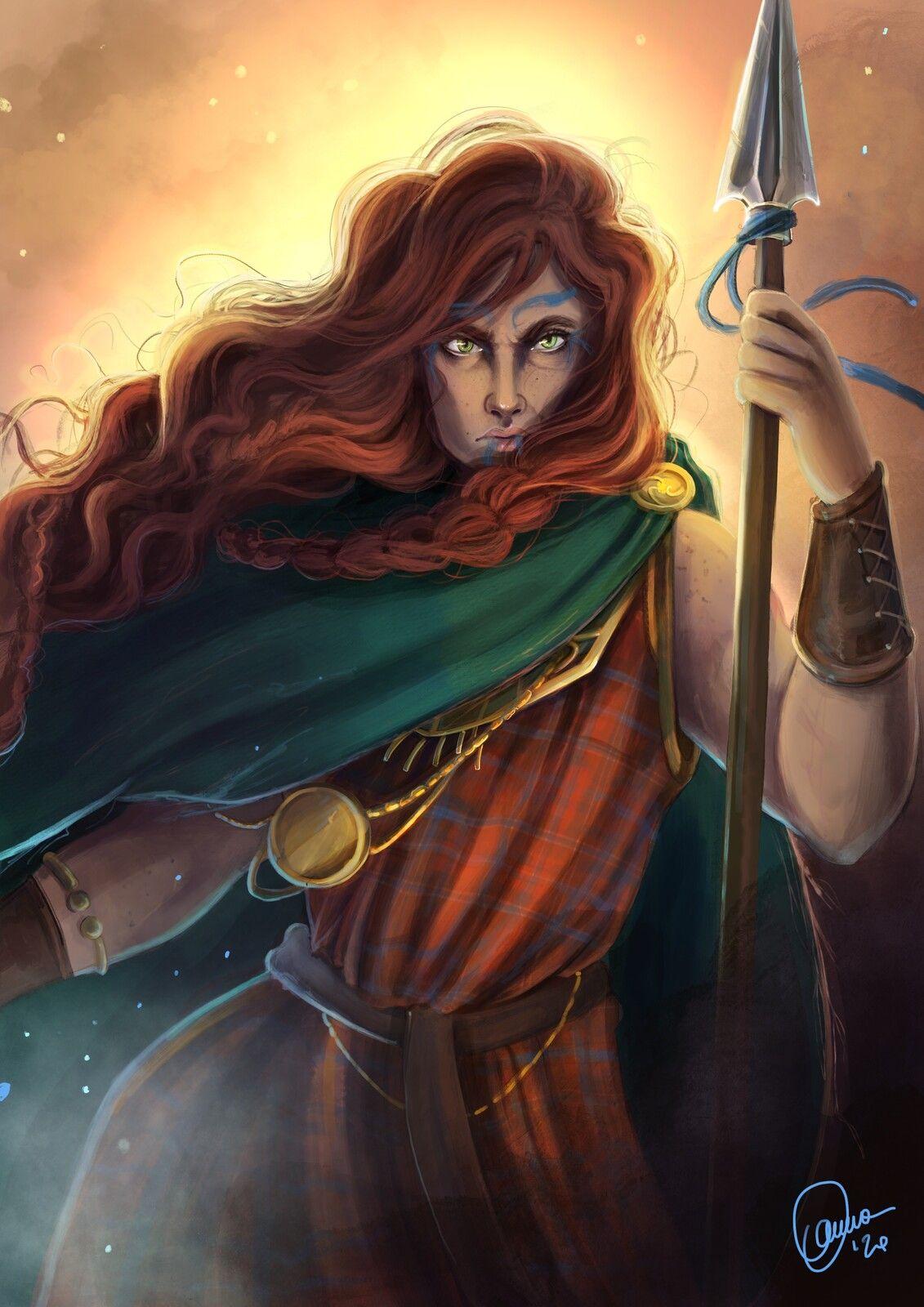 Boudicca Anna Schiliro On Artstation At Https Www Artstation Com Artwork Xzakwm Celtic Warriors Celtic Gods Warrior Woman