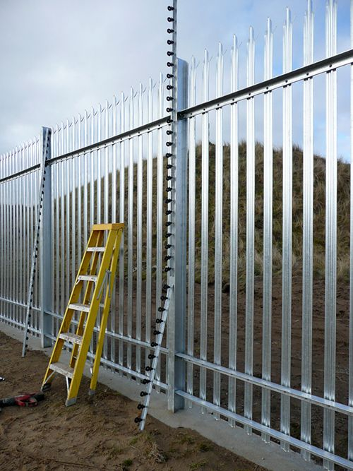 Electric Security Fence New System Installation Security Fence Electric Fence Fence