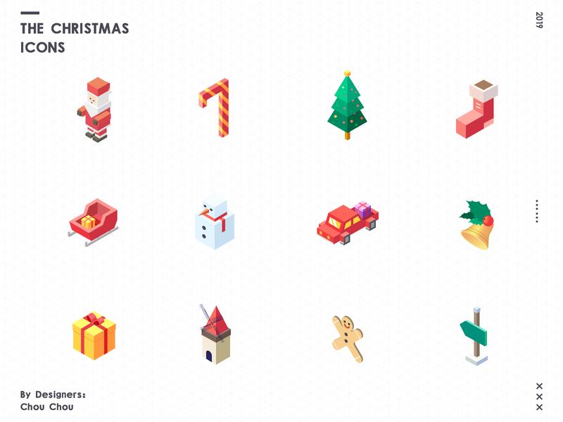 The Christmas Icons Christmas Icons Business Icons Design