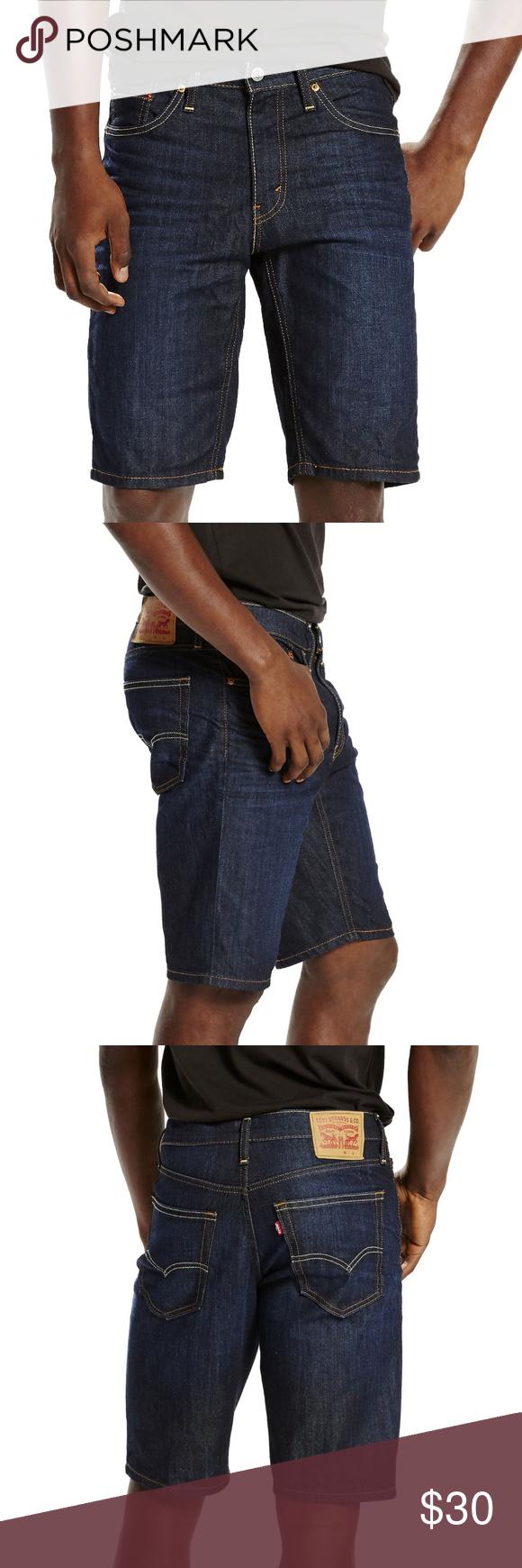 7e7543b7 Levi's 541 Athletic Fit Denim Blue Jean Shorts 40