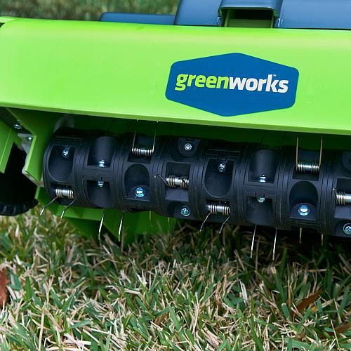 Greenworks 14 10 Amp Electric Lawn Dethatcher