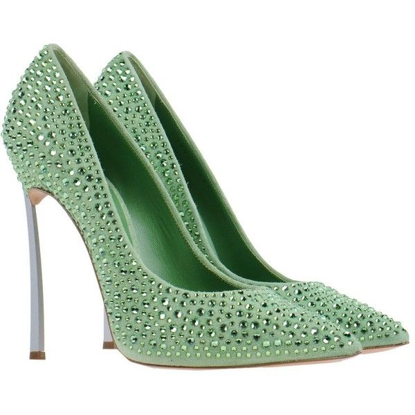 CASADEI Pump (2110 QAR) ❤ liked on Polyvore featuring shoes, pumps, heels, обувь, spiked heel pumps, heels & pumps, leather sole shoes, casadei pumps and spiked high heel shoes