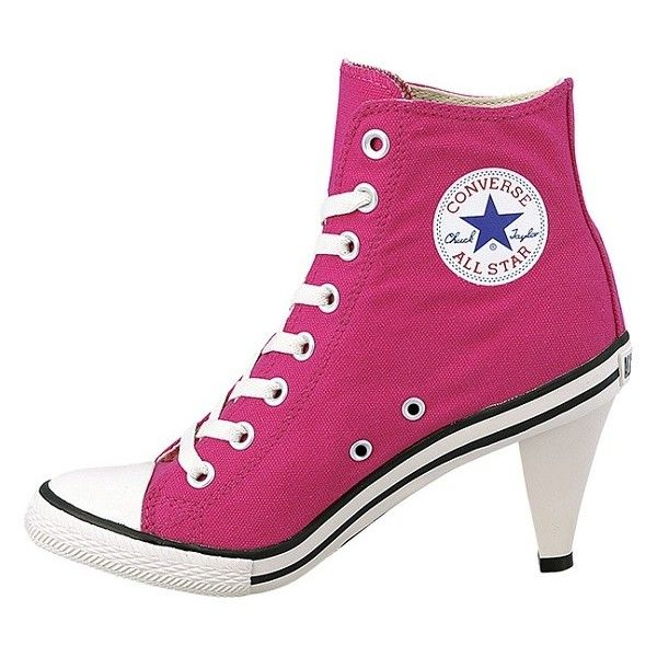 9fcc3cac17dd Heel Yes or Heel No Converse Chuck Taylor All Star Heels ❤ liked on  Polyvore featuring shoes