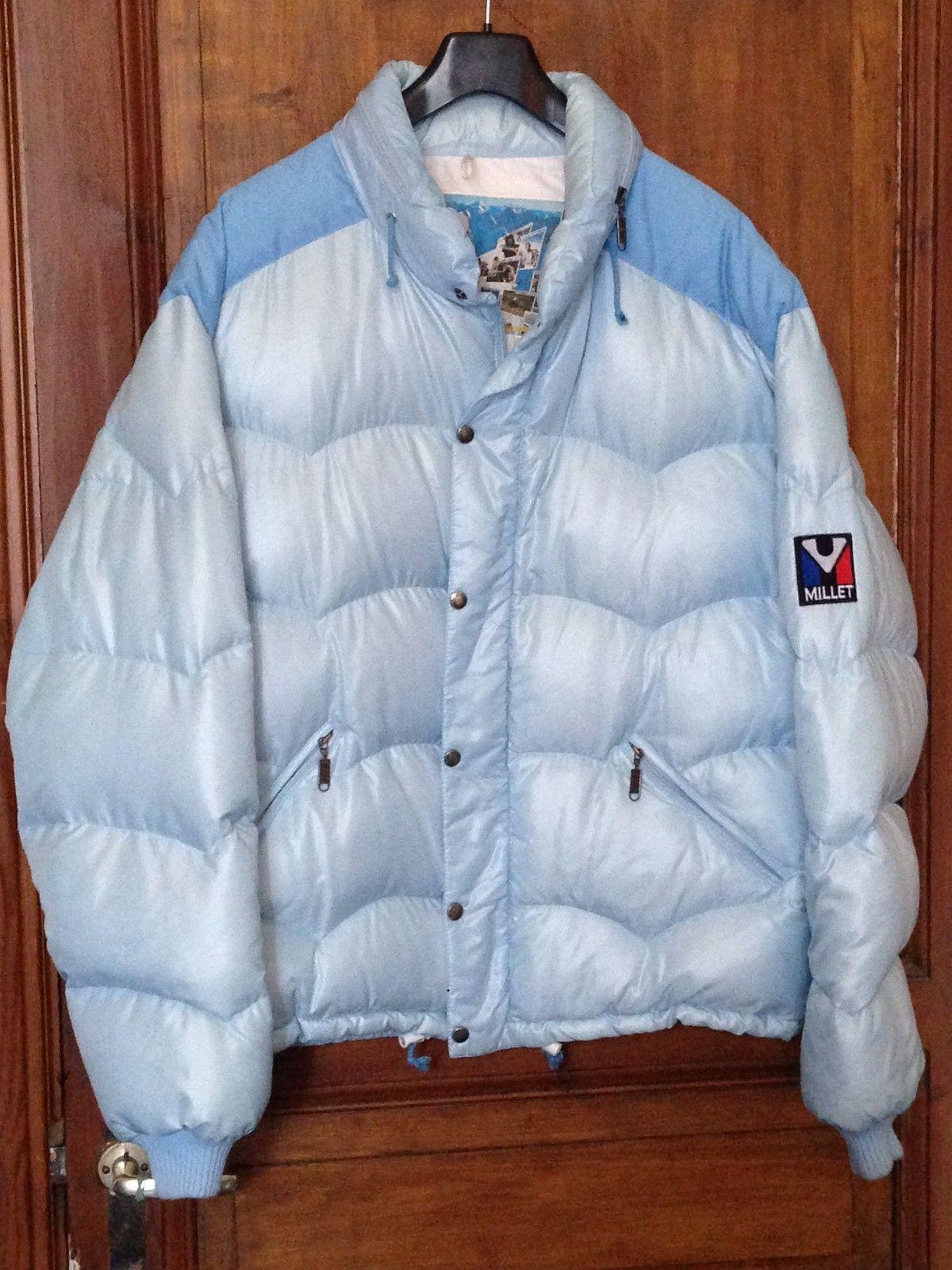 promo code 8c779 56494 Awesome light blue grey vintage Millet | Millet down jackets ...