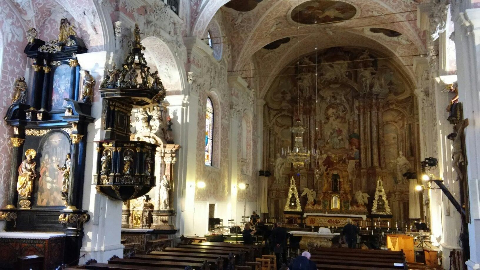 Church Of St Catherine Zagreb Croatia Zagreb Croatia