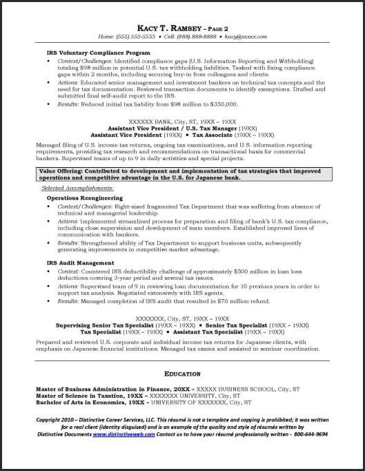 investment banking example resume page sample resumes Home - resume for personal banker