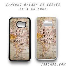 wanderlust i ve got the bug Phone case for samsung galaxy S6 & S6 EDGE
