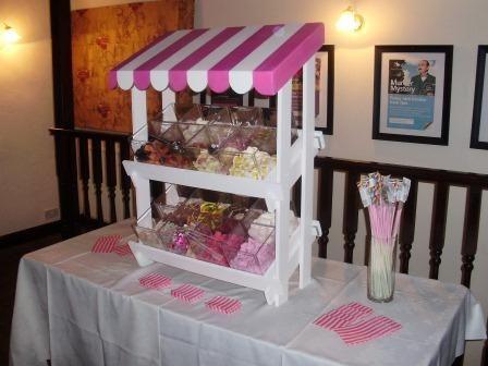 Sweet Stall Wedding Festival Ideas Candy Cart Sweet