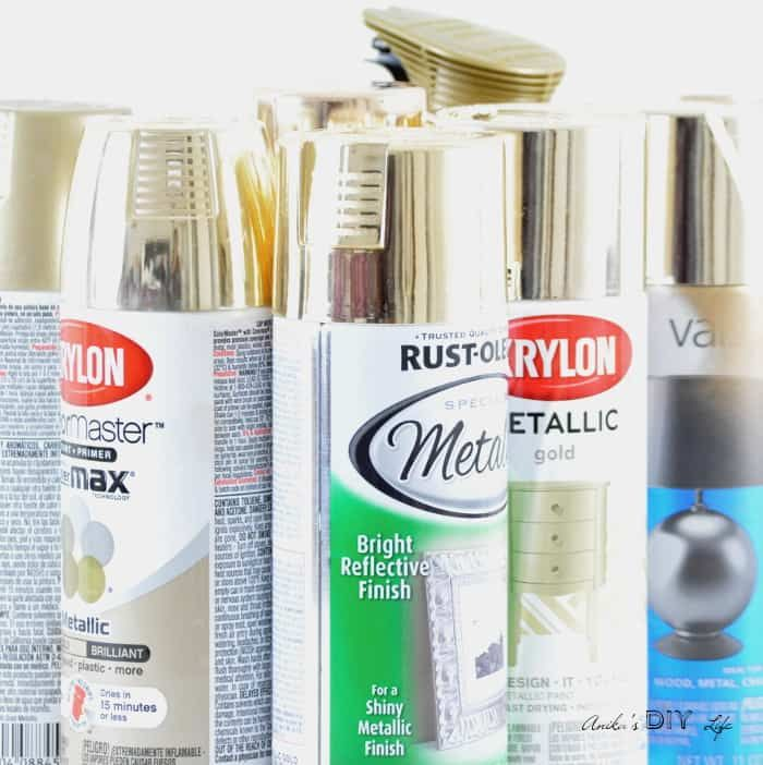 Which Is The Best Silver Spray Paint Craft Gold Spray