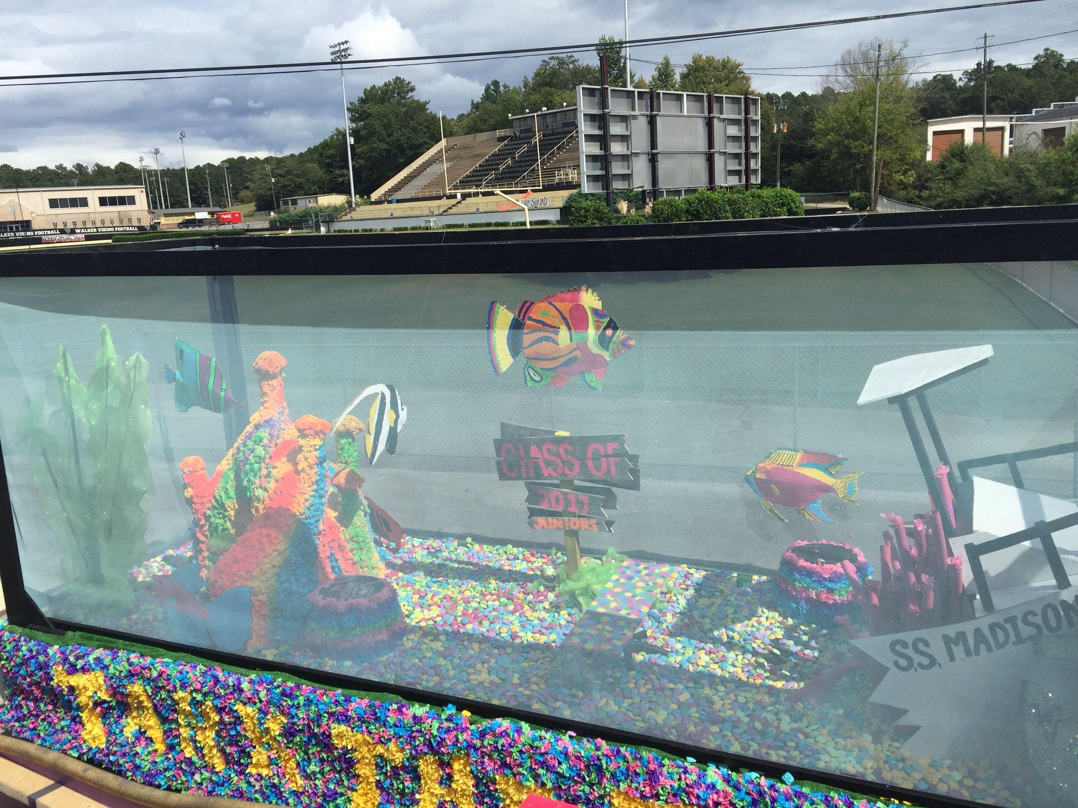 Fish Tank Home ing Float Home ing Parade Float