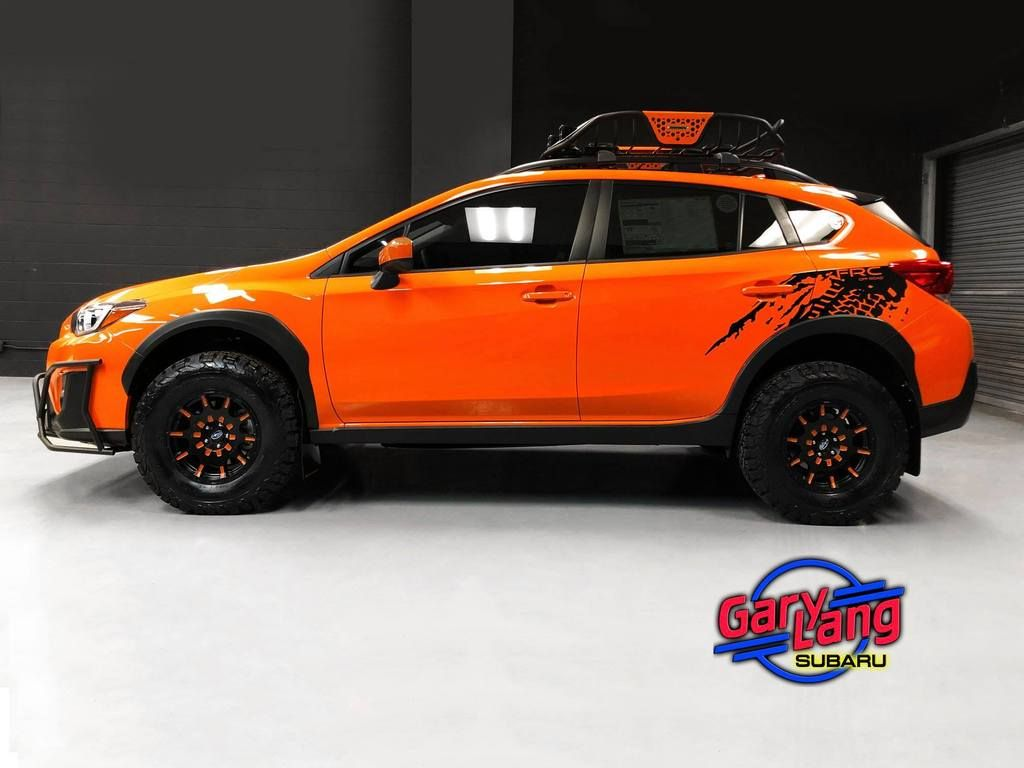 Brand Subaru Model Crosstrek Year 2019color Sunshine Orange Modifications Lift Kit Lp Aventure Lift In 2020 Subaru Crosstrek Subaru Subaru Crosstrek Accessories