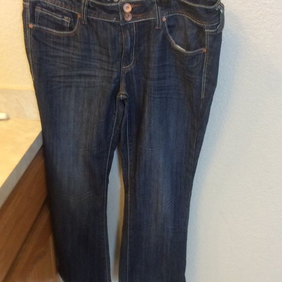 """Refuge jeans Used jeans skinny boot inseam is """"28 Jeans"""