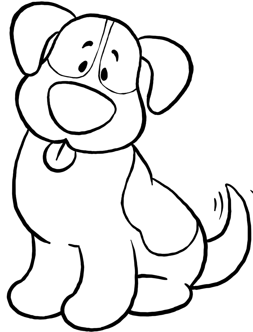 Cute Dog Coloring Pages Dog Coloring Page Animal Coloring Pages Puppy Coloring Pages