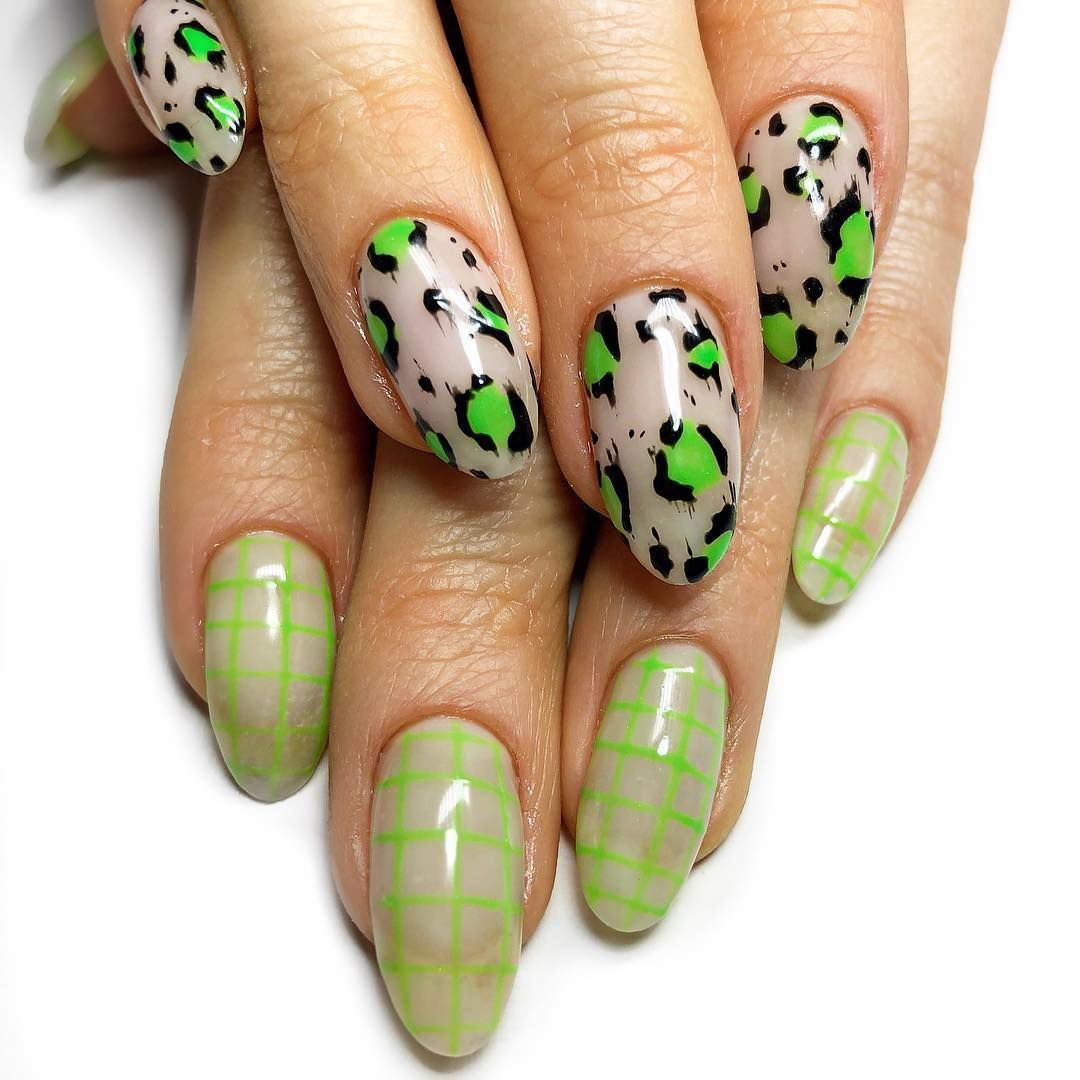 The Best Nail Sticker Ideas Courtesy Of These Celeb Nail Designs