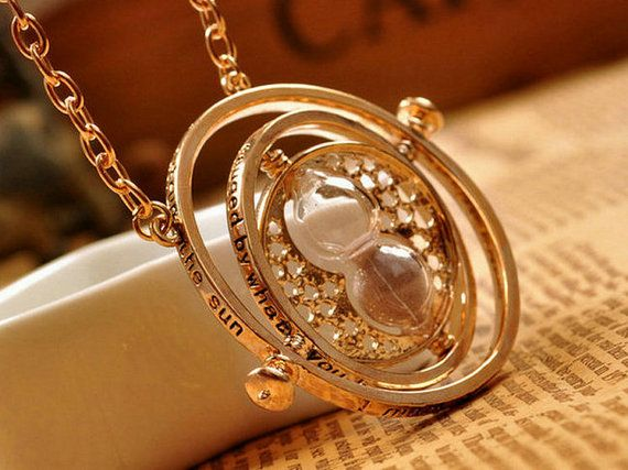 Harry Potter Hermione Granger TIME TURNER by KAIQIDjewelry on Etsy