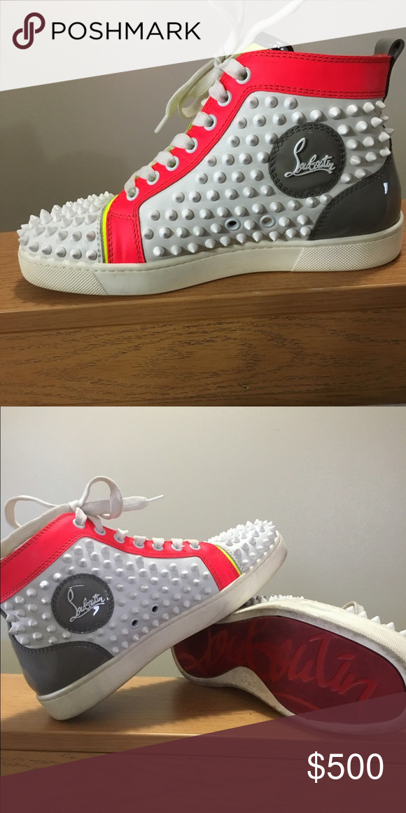 9825a2191321 Preowned still in good care only wore them 4 times!! Christian Louboutin  Shoes Sneakers