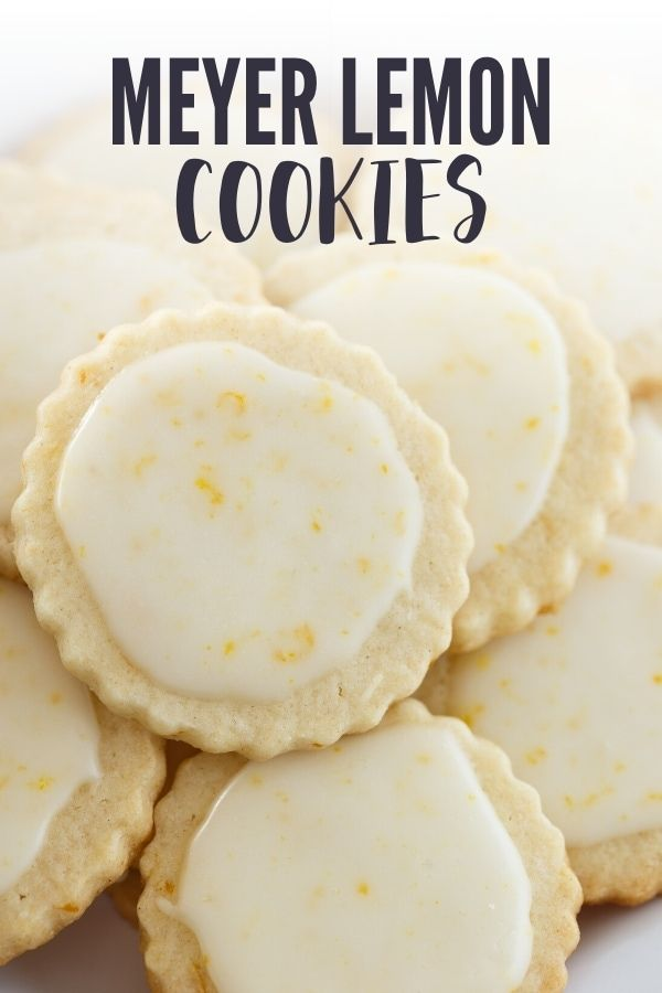 Epic Meyer Lemon Cookies that you must make Theyre soft tender so flavorful