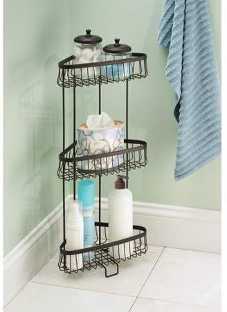Charlton Home Micheal Steel Free Standing Shower Caddy Shower