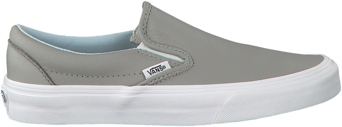 289197dcf1 Vans Classic Slip-On (Leather) Oxford Drizzle