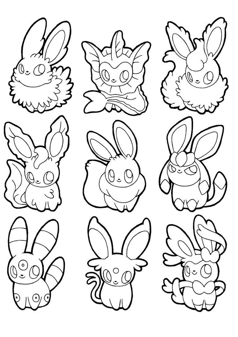 Coloriage A Imprimer Pokemon Legendaire