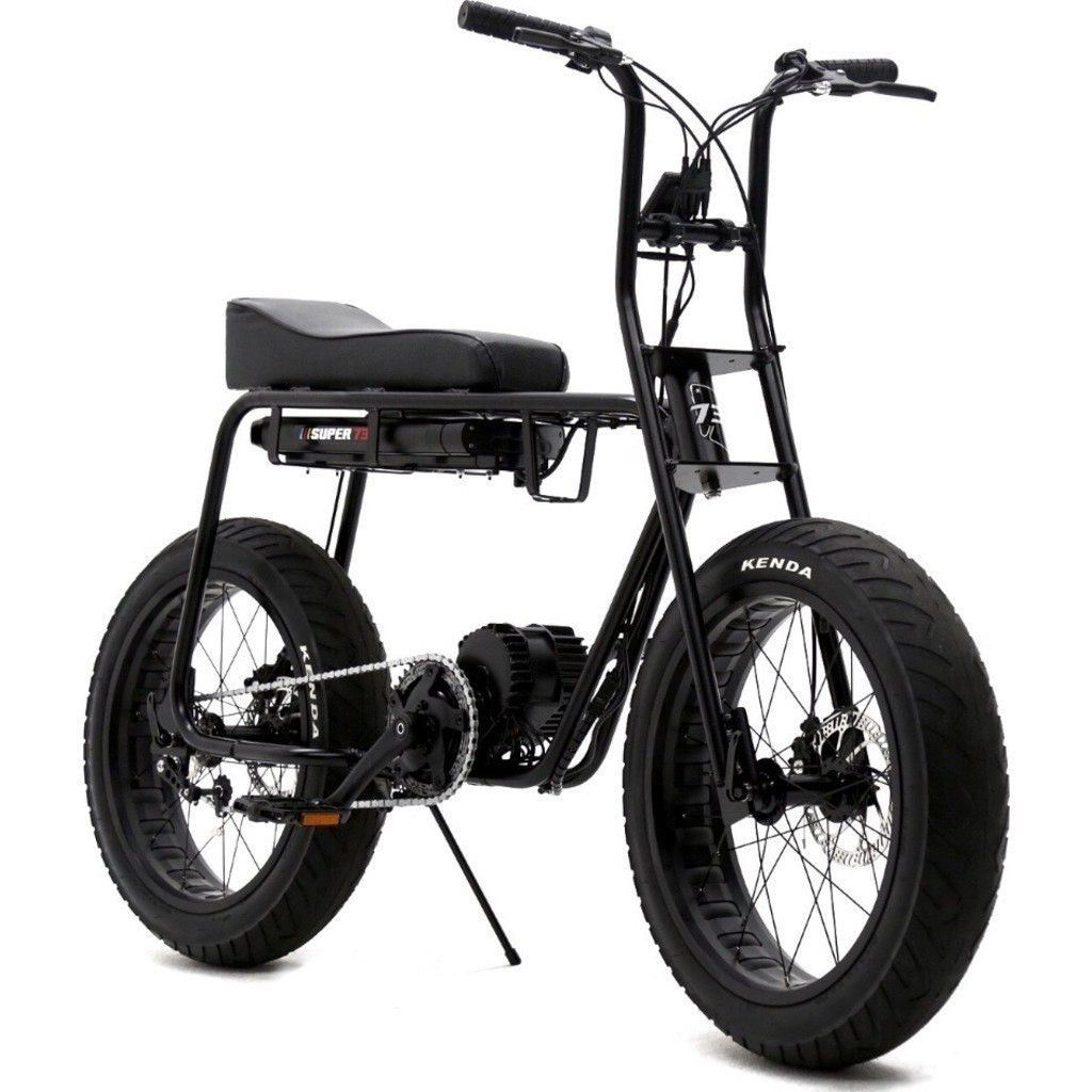 Lithium cycles american made super 73 electric motorbike matte black