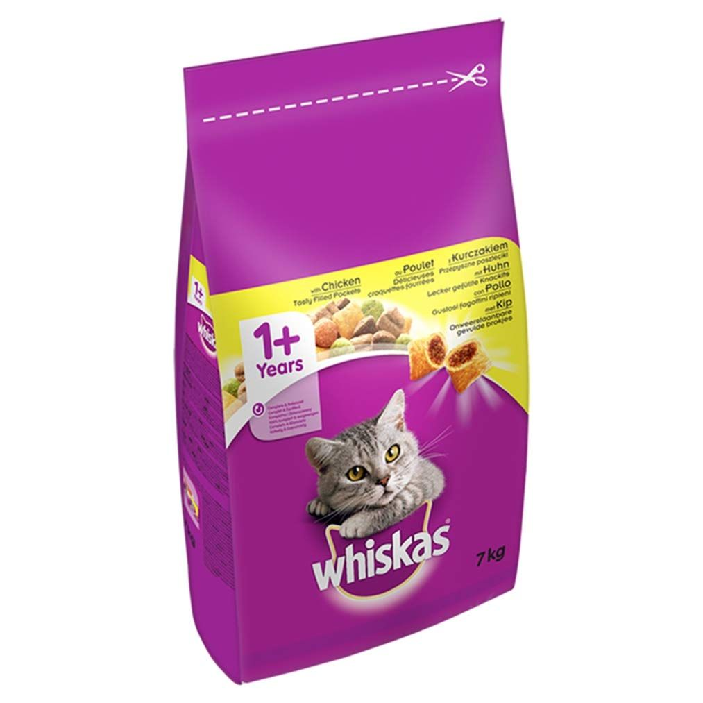 Whiskas 1 Complete Dry Cat Food With Chicken 7 Kg Amazonsmile Pet Supplies Https Amzn To 2vnyu1s 14 00 This Dry Cat Food Chicken Cat Cat Food Coupons