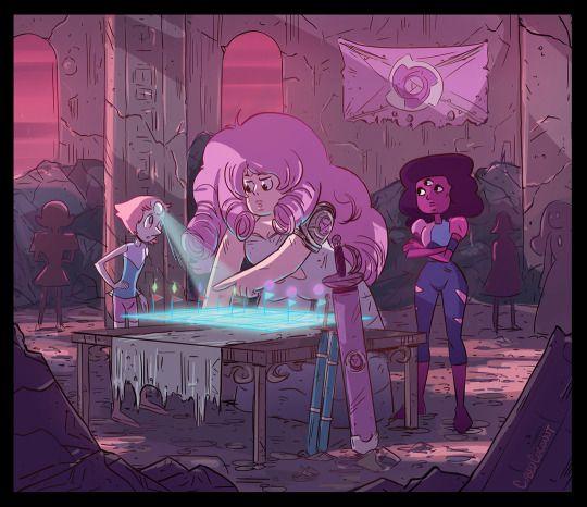 Cubedcoconut steven universe pinterest steven for Commander rose
