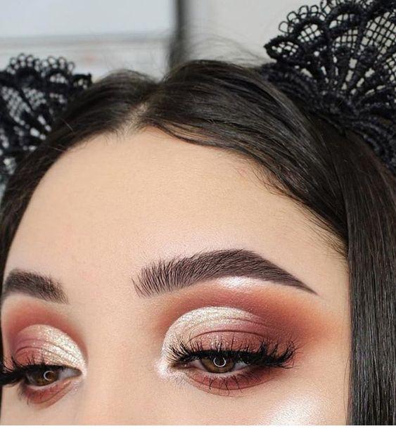 Gorgeous eye makeup for brown eye,eye makeup for blue eye ,smokey eye Makeup #eyemakeup #makeup #mua #eyeshadow #goldencutcrease