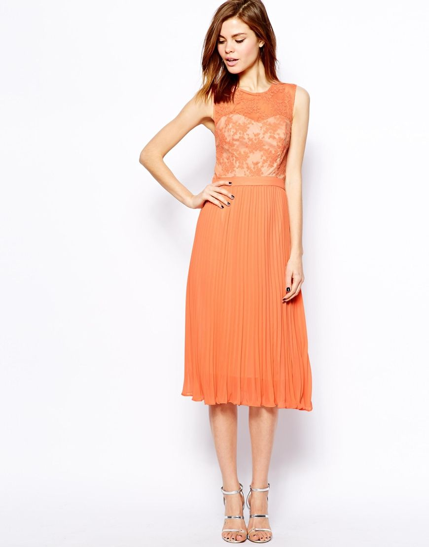 Coral bridesmaid dress | Mismatched Bridesmaids & Pretty BM Dresses ...