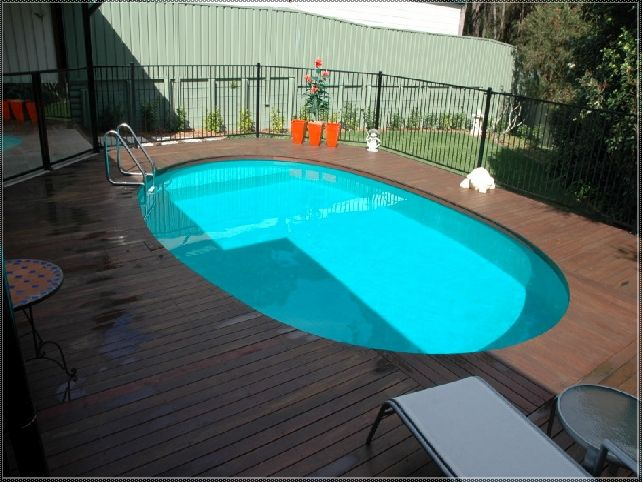Deck Plans Around Oval Above Ground Pool Broadway In
