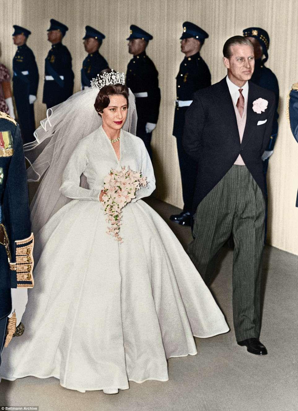 Daily Mail Revisits Princess Margaret S Stylish Nuptials Royal