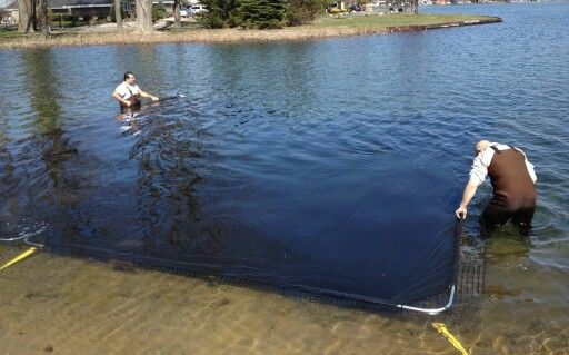 How About A Muck Mat Lake Landscaping Lake Beach Lakeside Beach