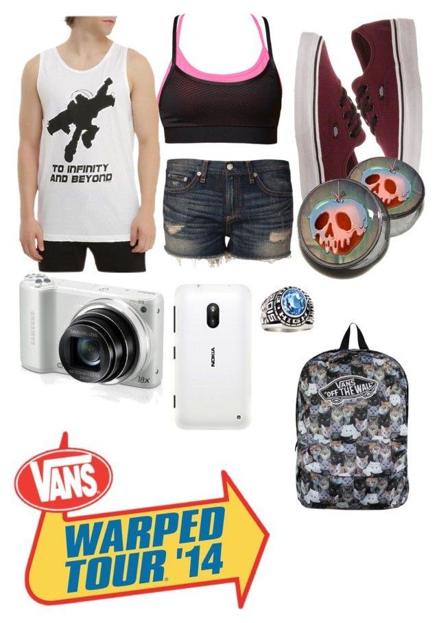 Warped Tour 2014 by cyndal-eats-zombies on Polyvore featuring art