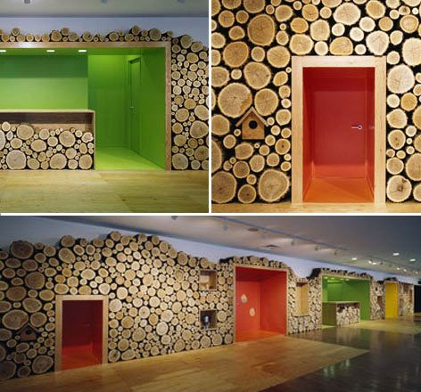 Gao Nursery in Hokuto, Japan, by Klein Dytham Architecture. #architecture for kids