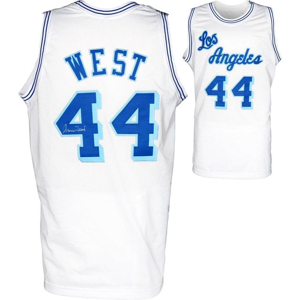 87bd445abd92 Jerry West Los Angeles Lakers Autographed Jersey