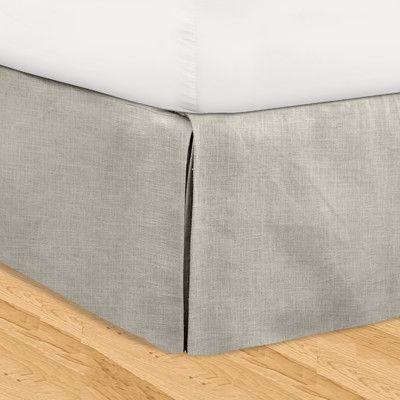 Veratex 3 Piece Adjustable Bed Skirt Set Bedskirt Linen Bedskirt Adjustable Beds