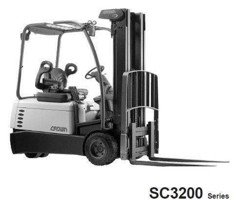 Crown SC3200 Series Forklift Service Repair Maintenance Manual ...
